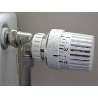 Установка терморегулятора радиатора отопления