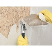 Очистка стен после обоев