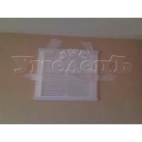 Монтаж вентиляционной решетки