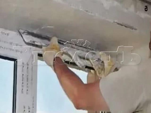 Шпатлевка шлифовка откосов под покраску. Стены отделка. Ремонт квартир в Москве и Подмосковье.