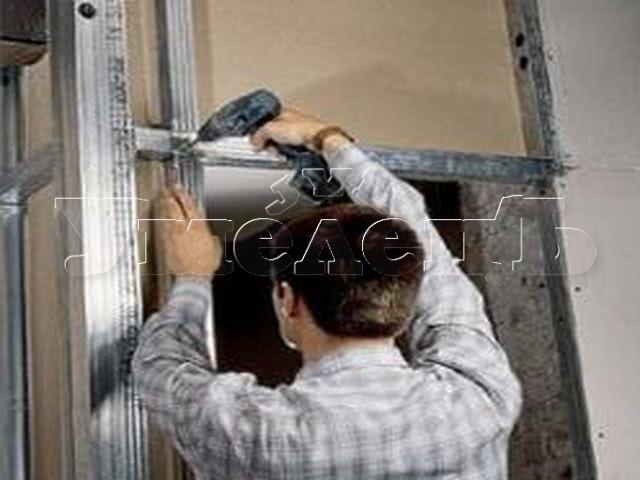 Демонтаж короба из гипсокартона панелей ПВХ ДСП. Стены демонтаж полный. Ремонт квартир в Москве и Подмосковье.