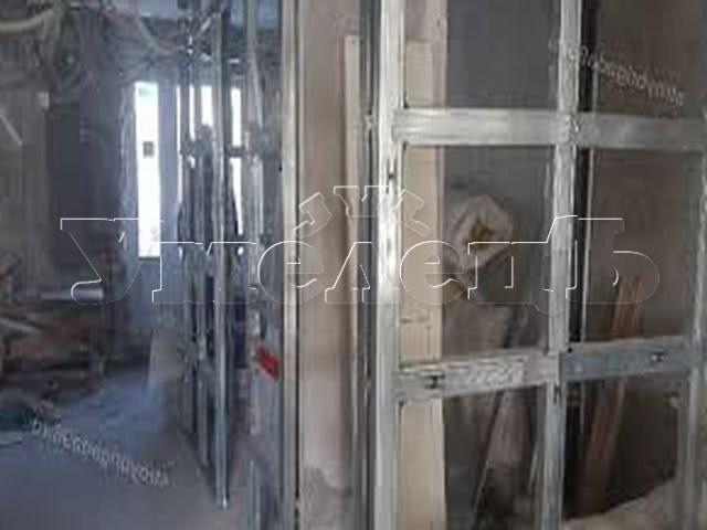 Разборка перегородки гипсокартона. Стены демонтаж полный. Ремонт квартир в Москве и Подмосковье.