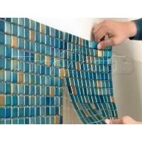Облицовка стен мозаикой