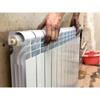 Демонтаж радиатора отопления нового типа