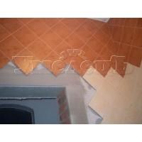 Облицовка стен кафельной плиткой диагональ