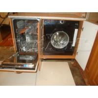 Установка посудомоечной стиральной машины