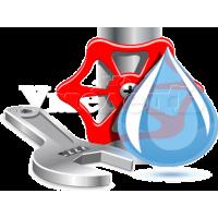 Установка сантехники, оборудования, труб водоснабжения и канализации