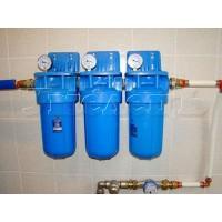 Монтаж фильтров тонкой очистки воды
