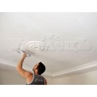 Шпатлевка поверхности потолка шпаклёвкой мультифиниш