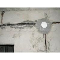 Монтаж распределительной коробки расключение бетон