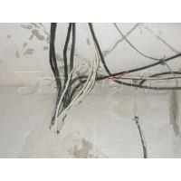 Демонтаж старой скрытой электропроводки