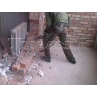 Демонтаж стен толщиной 1 кирпич