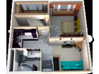 5 - 3D план квартиры 5