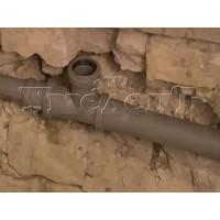 Штробление стены кирпич пенобетон пазогребневый блок под трубы канализации D 50