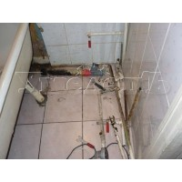 Демонтаж труб холодного горячего водоснабжения