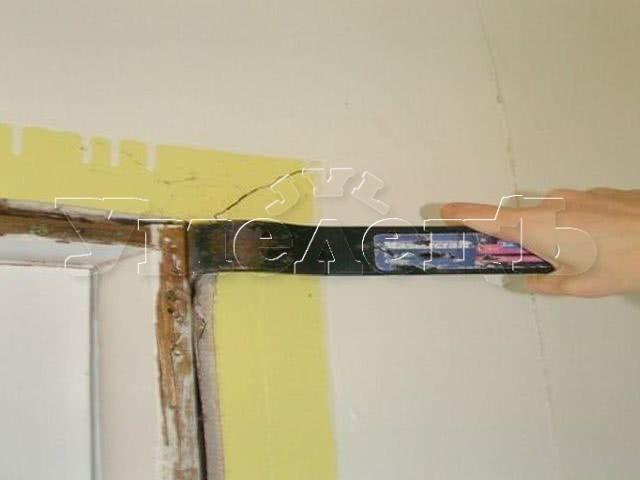 Демонтаж откосов из гипсокартона или панелей ПВХ. Дверь окно изменить переделать поменять. Ремонт квартир в Москве и Подмосковье.