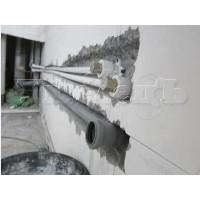 Штробление стены бетон под трубы водопровода