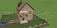 Дом общий вид 1