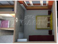 9 - 3D план спальни