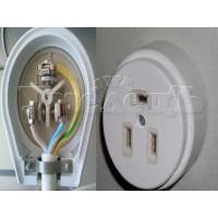 Монтаж розетки электроплиты подключение