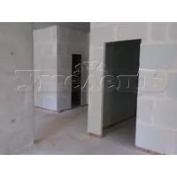 Устройства проема стена гипсолитовые блоки пеноблоки