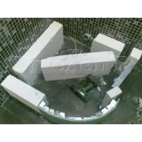 Монтаж подиума душевого поддона высотой 100 150 мм