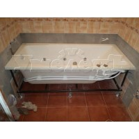 Установка ванны гидромассаж