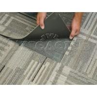 Настил коврового плиточного покрытия