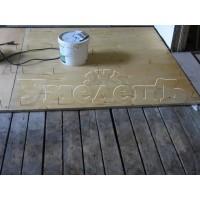 Укладка фанеры деревянный пол