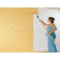 Окраска стен 2 слоя