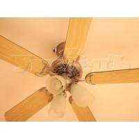 Монтаж вентилятора потолочного с люстрой