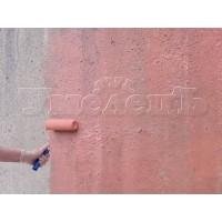 Нанесение бетоноконтакта антиплесень