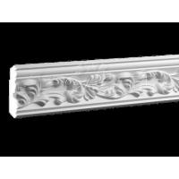 Монтаж багета полиуретанового шириной 150 мм