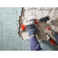 Демонтировать отделку стен