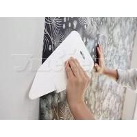 Оклейка стен бумажными флизелиновыми виниловыми обоями