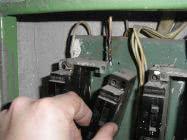 Отключение электроавтоматов