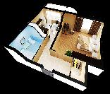 Примерный вид квартиры