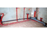Подключение труб канализации