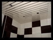 Установка реечных потолков